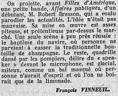L'Action Française du 23 novembre 1934