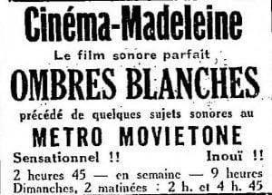 La Semaine à Paris du 23 novembre 1928