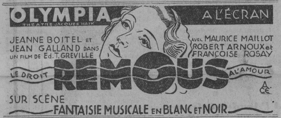Paris Soir du 16 mars 1935