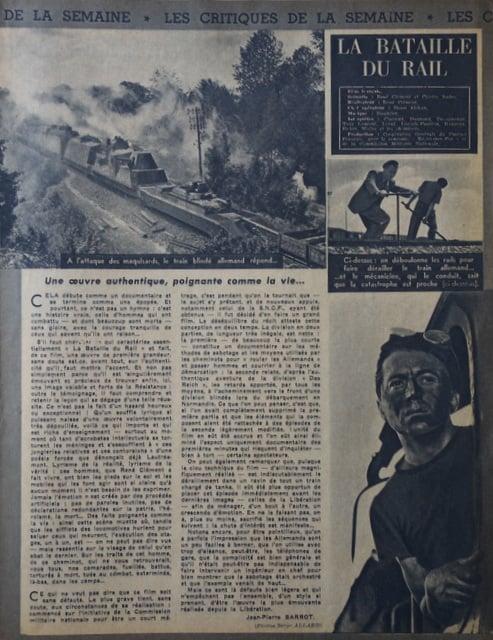 l'Ecran Français du 27 Fevrier 1946