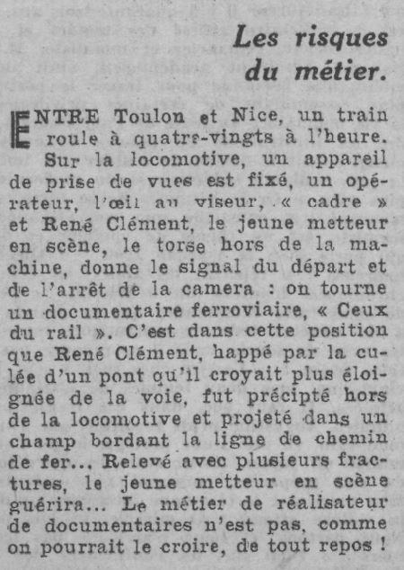 Comoedia du 17 avril 1943