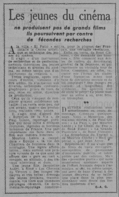 Le Journal du 17 décembre 1942