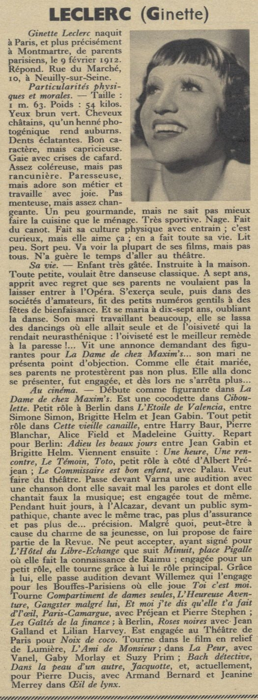 Pour Vous du 21 mai 1936