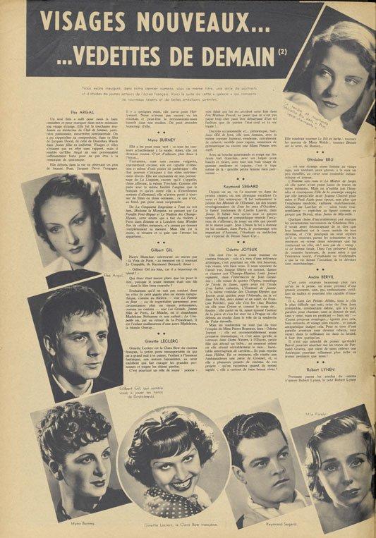Pour Vous du 22 octobre 1936