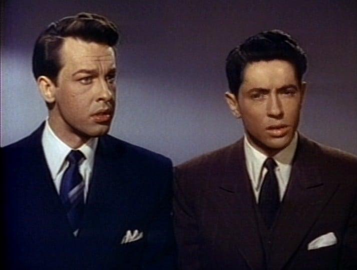 John Dall et Farley Granger (D.R.)