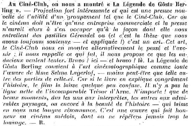 La Semaine à Paris du 20 novembre 1925