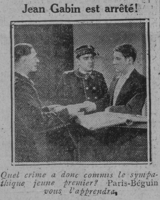 Comoedia du 13 mai 1931