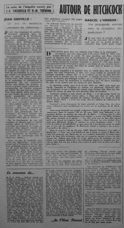 L'Ecran Français du 19 Avril 1949