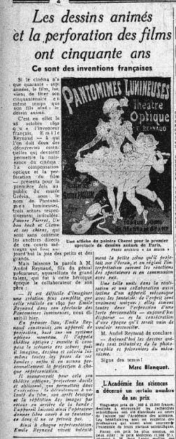 Le Matin du 18 novembre 1942