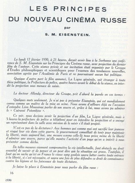 La Revue du Cinéma d'avril 1930