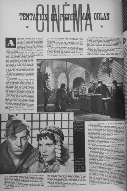 Cinémonde, numéro spécial Noël 1946