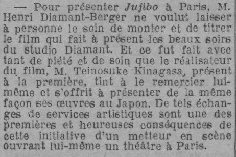 Paris-Soir du 16 février 1929