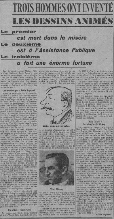 Paris-soir du28 avril 1937