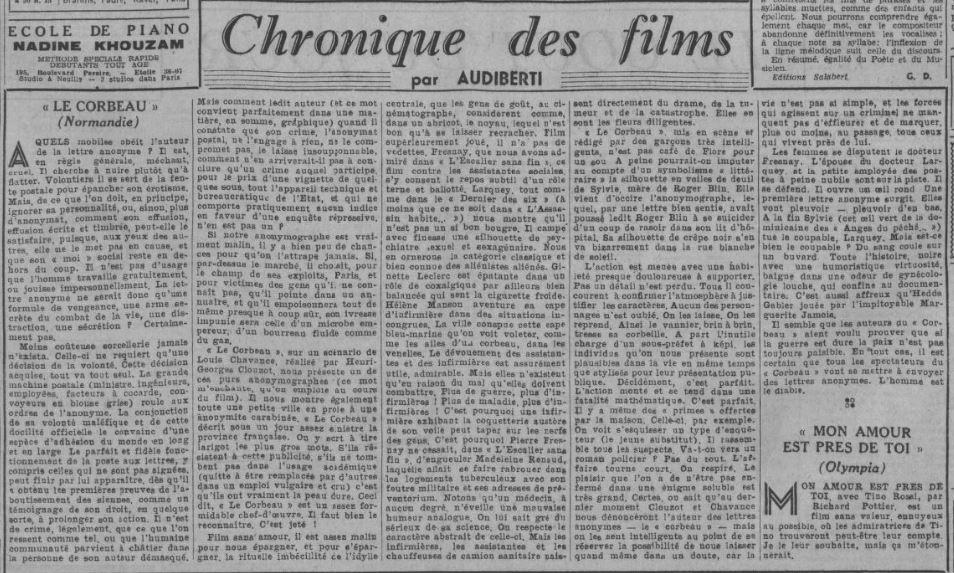 Comoedia du 09 octobre 1943
