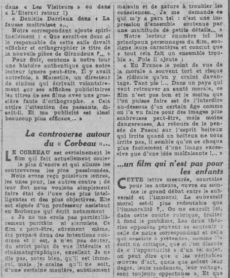 Comoedia du 23 octobre 1943