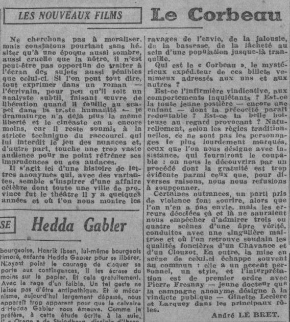 Paris Soir du 6 octobre 1943