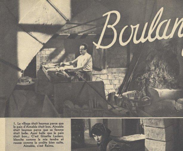 Du pour Boulanger La Vous Marcel Femme De Pagnol 1938 UwY65q