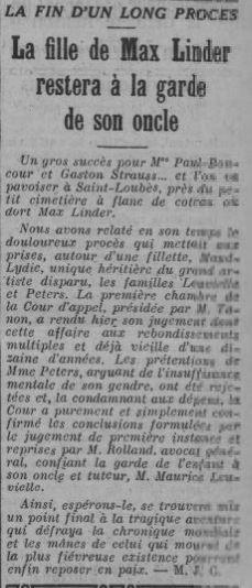 Comoedia du 2 mars 1935
