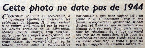L'Ecran français du 14 septembre 1948