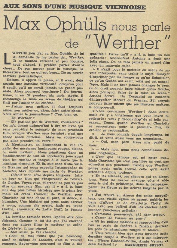 Pour Vous du 1 Juin 1938