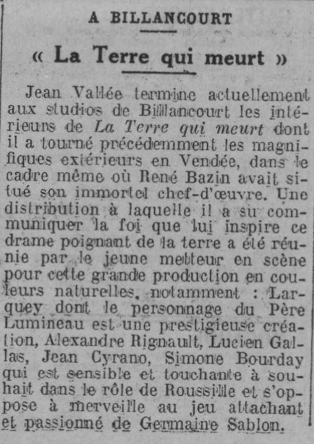 Comoedia du 02 décembre 1935