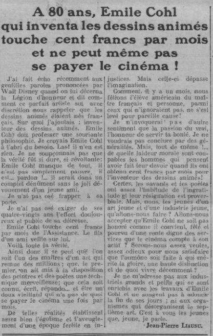 Comoedia du 10 janvier 1936