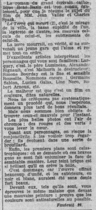 La Croix du 10 mai 1936