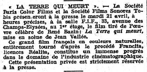 L'Action Française du 19 avril 1936