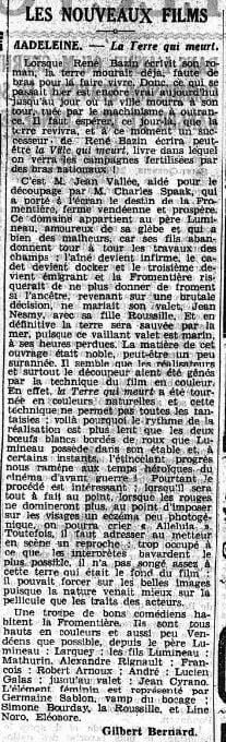 Le Matin du 25 avril 1936