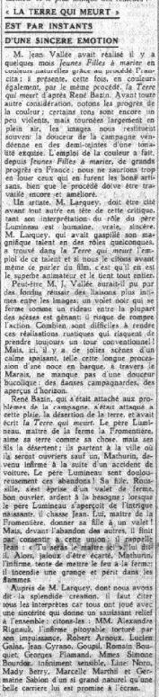 Le Petit Parisien du 25 avril 1936