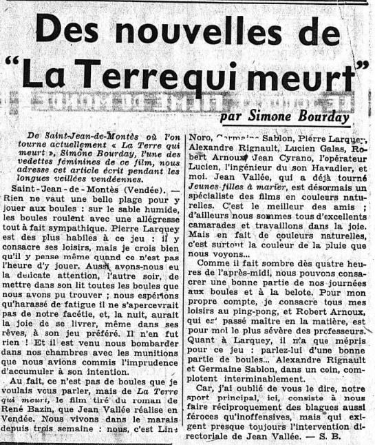 L'Intransigeant du 9 novembre 1935