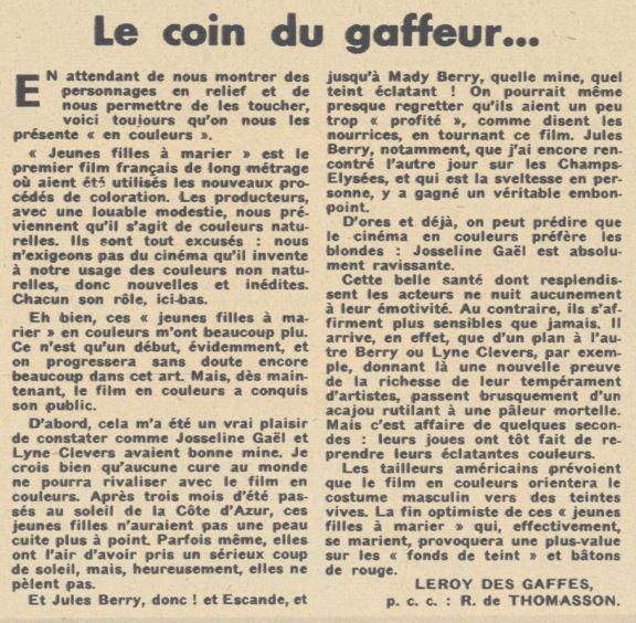 Pour Vous du 11 Juillet 1935