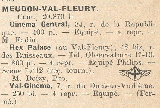 paru dans le Tout-Cinéma 1938