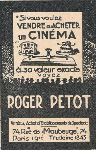 paru dans Le Tout Cinéma 1938