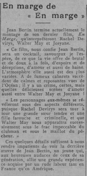 Comoedia du 8 septembre 1930