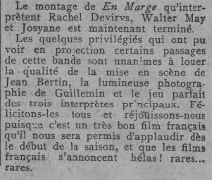 Comoedia du 14 septembre 1929