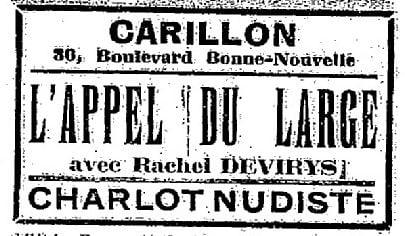 La Semaine à Paris du 7 novembre 1930