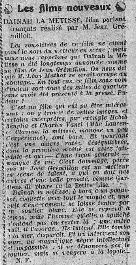 L'Intransigeant du 26 Août 1932