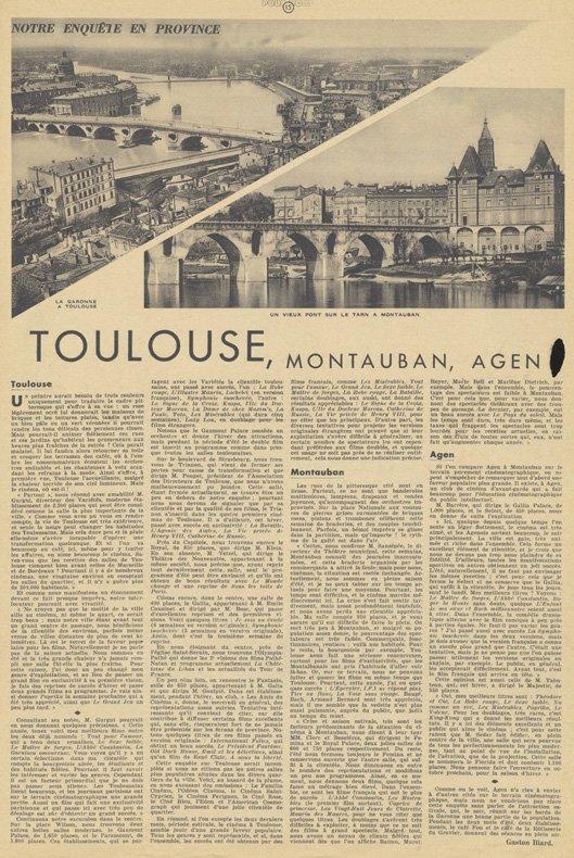 Pour Vous du 12 juillet 1934