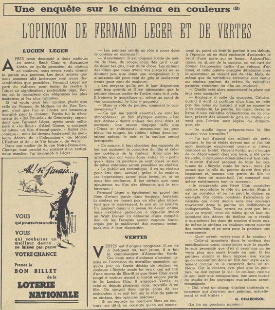 Pour Vous du 13 avril 1938