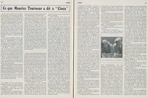 Cinéa du 3 Mars 1922