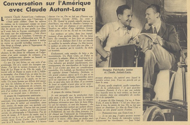 Pour Vous du 7 juillet 1932