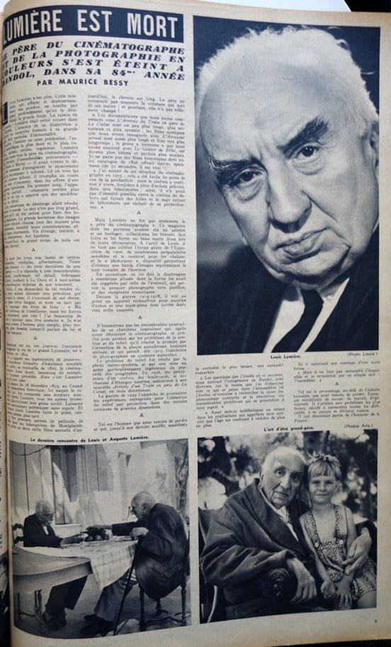 paru dans Cinémonde du 15 juin 1948