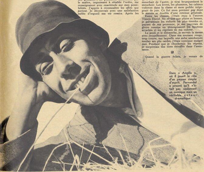 paru dans Pour Vous du 18 mars 1937
