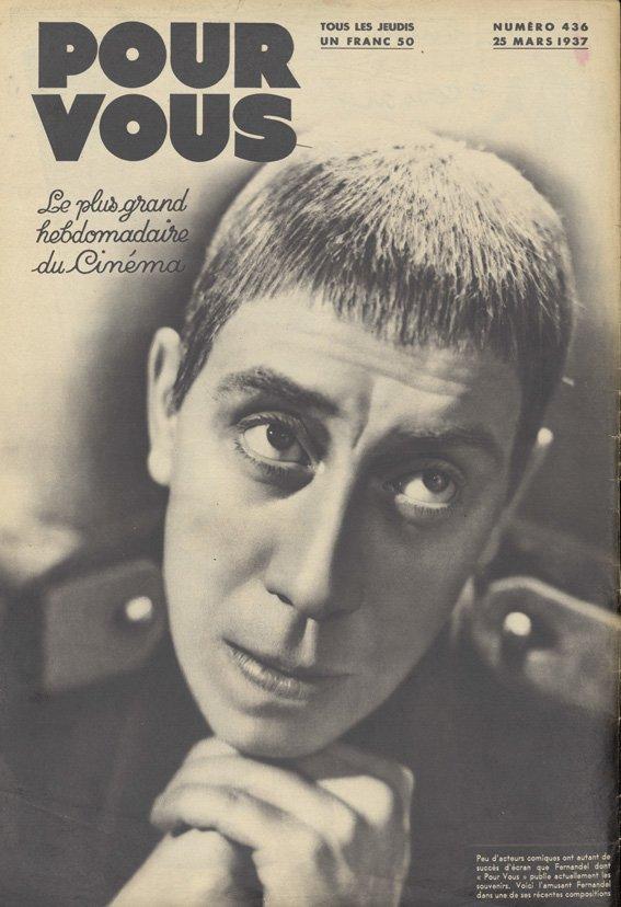paru dans Pour Vous du 25 mars 1937