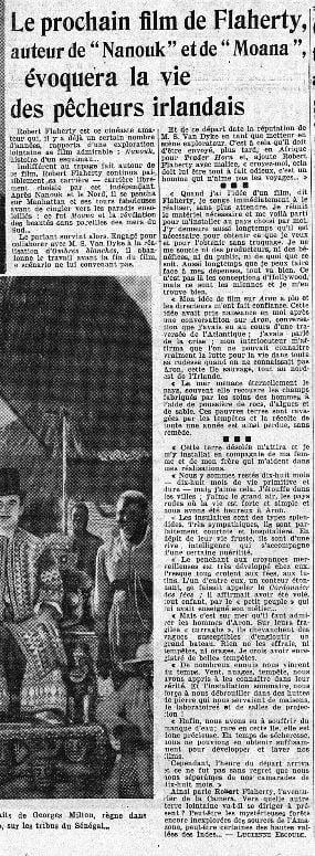 paru dans L'Intransigeant du 21 avril 1934