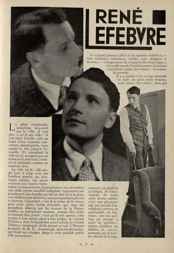 paru dans Cinémagazine de juillet 1932