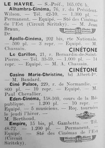 D.R. Le Tout-Cinéma 1938-1939