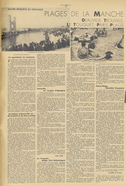 paru dans Pour Vous du 09 août 1934
