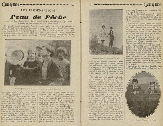 Cinémagazine du 18 Janvier 1929